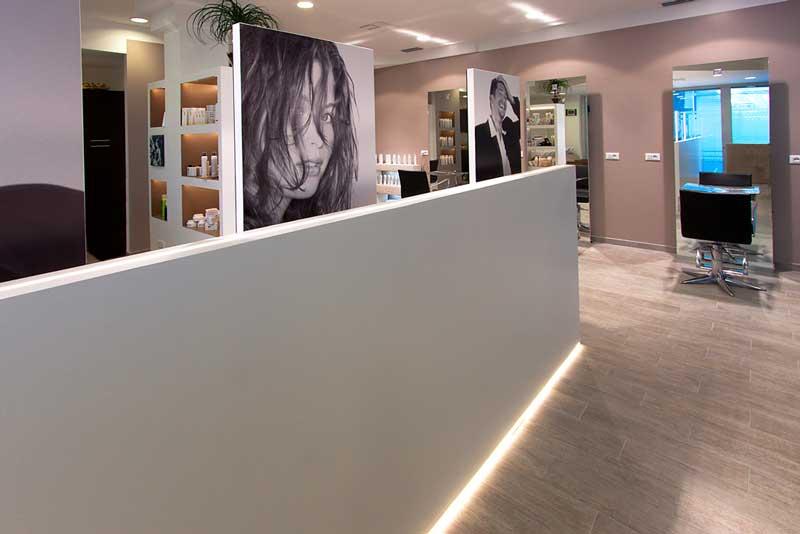 Progettazione parrucchieri e centri estetici for Arredamento centri estetici